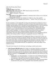 ENC1145 Final Paper Assignment Sheet