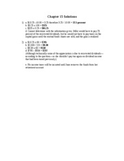 Chapter 15 Solutions