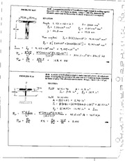 1209_Mechanics Homework Mechanics of Materials Solution