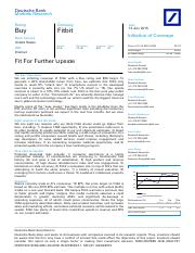 DeutscheBank_FitbitFitForFurtherUpside_Jul_13_2015
