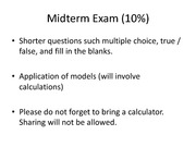 MKTG 408 - Midterm Exam Review