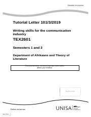 Tutorial Letter 101 (Eng) for TEX2601.pdf
