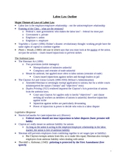 Silverman F04 Labor Law Outline