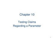 Testing claims