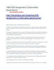 PSYC-3009 Assignment 3 Information Governance