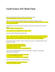 Earth Science ASU Beebe Final.docx