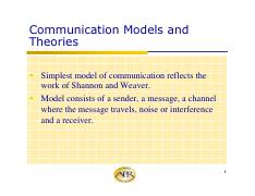 APRcommunication models and theories pdf