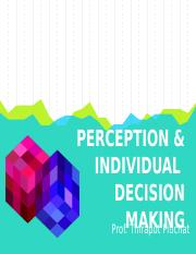 04 Pitichat Perception and Decision Making_Student.pptx