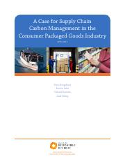 Case of supply chain Carbon management.pdf