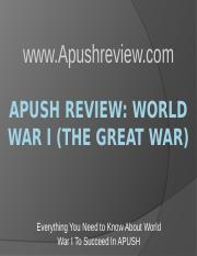 APUSH-Review-World-War-I-The-Great-War-Final