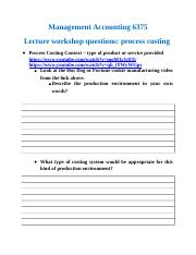 Process Costing lecture workshop questions.docx