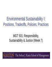 Week 7 - Environmental Sustainability I.ppt