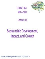 L19 - Sustainability, Impact, Growth - 16 Mar 2018 - DUO.ppt