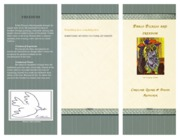 Pablo Picasso Project Brochure