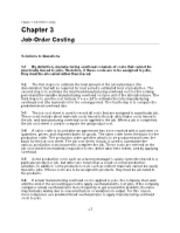 Chapter 3-Solutions- Job-Order Costing