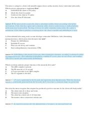 Practice Questions Perfusion 1