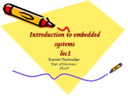 intro to emb systems Ch1