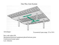 One-way slabs and joists-2014