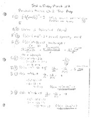 Chapter 2 Practice Test & Solutions
