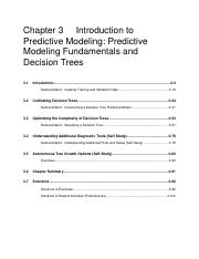 CIS 375_Predictive Modeling Fundamentals and Decision Trees.pdf
