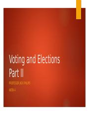 6) Voting & Elections Part 2 PP.pptx