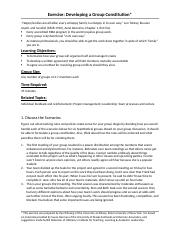 OB-Exercise - Developing a Group Constitution ORGS 5100 (1).docx
