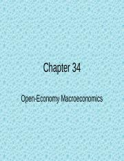 Chapter 34 econ notes new