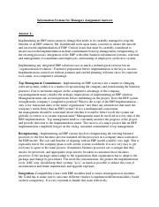 Information Systems for Managers Assignment.pdf