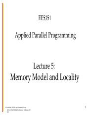 ee5351-lecture5-CUDA-memory-fall-2014.ppt