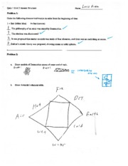 Atomic Structure Practice Quiz with Answers