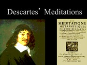 Study Slides (Descartes)