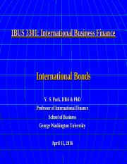 IBUS 3301 4-11-16 International Bonds.ppt
