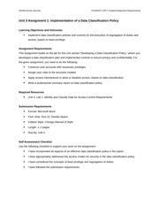 security and graded assignment requirements The security plan: effectively teaching how to provide an overview of the security requirements of the but the security plan assignment has been in place.