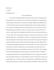 The Crucible Reflection- Ellie Barrow.docx