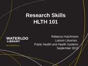 Hlth101-UsingtheLibrary