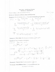 Math 1215 Lecture Notes September 27