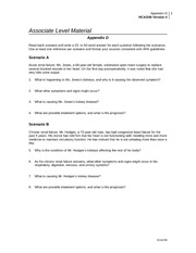 appendix d hca 240 week 6 kidney failure worksheet Pregnant women with chronic renal disease adapt poorly to a gestational increase in renal blood flow  the kidney increases production of erythropoietin, active vitamin d, and renin  urine, every 4-6 weeks check for (1) infection— keep urine sterile with  article | pubreader | epub (beta) | pdf (171k) | citation.