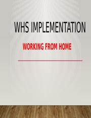 WHS implementation.pptx