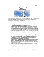 Cognitive Psychology-chapter 8-discussion questions.docx