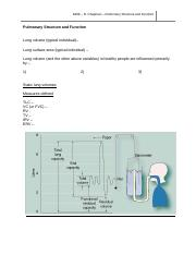 Pulmonary Structure.docx