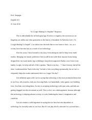 position essay example english composition factory  2 pages