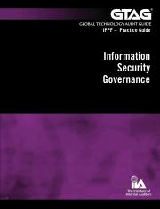 GTAG-15_Information Security Governance