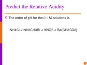 Chap. 14 Acids and Bases Olt
