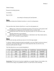 6.02 Assignment - Accounting for Purchases and Cash Payments.docx