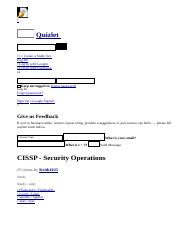 CISSP - Security Operations flashcards _ Quizlet.html