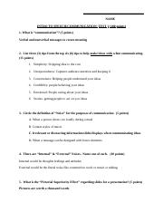 1st Test Study Guide