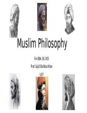 Muslim Philosophy 1st lecture.pptx