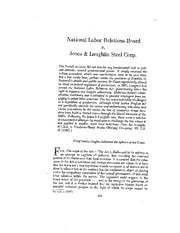 NLRB+v+Jones+and+Laughlin+Steel++Corp+_1937_