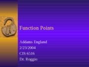 Talk-FunctionPointsv2.2.23.2004