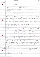 Properties of Numbers Lecture Notes